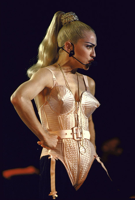 Madonna-Jean-Paul-Gaultier-Cone-Cupped-Corset-1990
