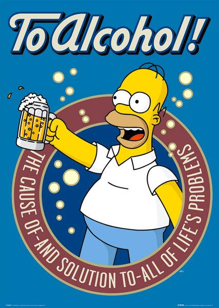 fp1259-simpsons-alcohol-poster